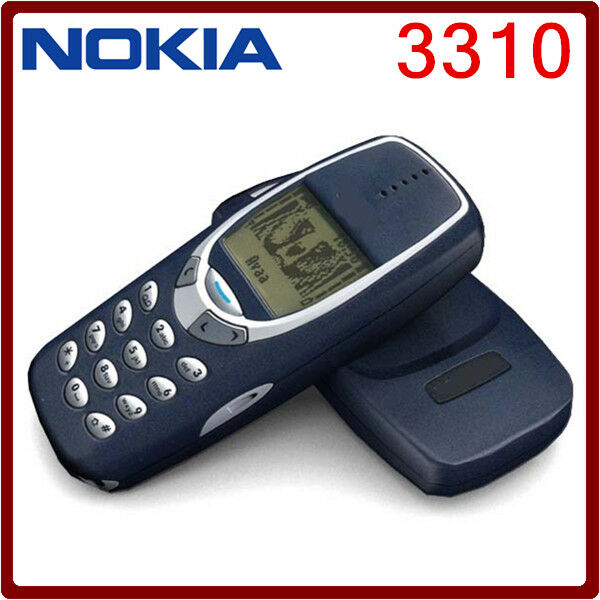 Unlocked Nokia 3310 Mobile Phone Classic Genuine Refurbished