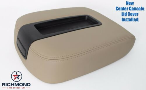 2007 2008 GMC Yukon SLT SLE Center Console Storage Compartment Lid Cover Tan
