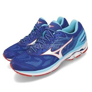 Mizuno-Wave-Rider-21-Blue-White-Red-Men-Running-Shoes-Sneakers-J1GC1803-02