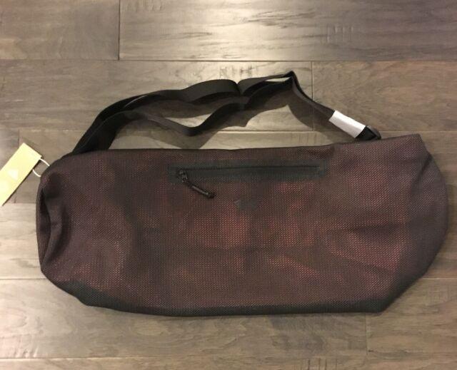 a766391c8eb5 Adidas Yoga Mat Shoulder Bag Wanderlust Black Orange CD8515 New Women s Men