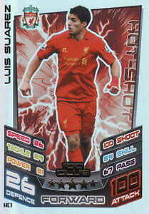 Match Attax Extra 12/13 Cards Pick  From List 100 Club HTH MOTM Captain Star