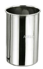 Sunnex Large 18.5cm Stainless Steel Kitchen Utensil Storage Jar Pot Holder Caddy
