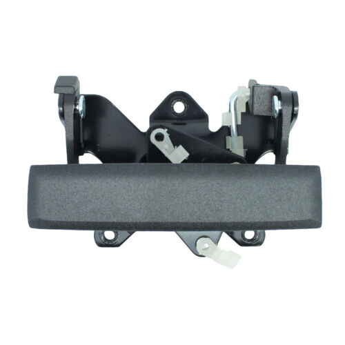Black Textured Tailgate Rear Exterior Outside Door Handle