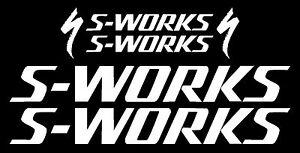 SPECIALIZED S-WORX Bikes Decal Set