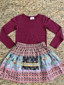 Girls Matilda Jane Once Upon A Time Merry Mood Dress size 6 EUC