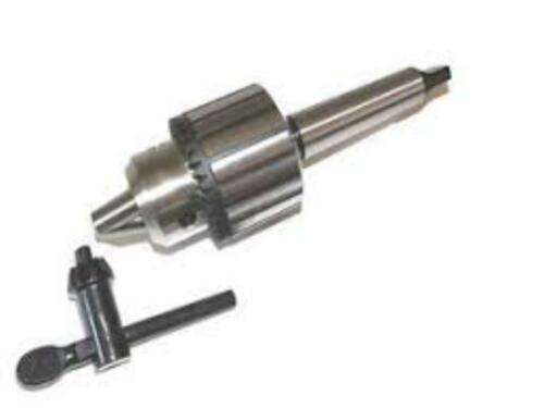 "3//4/"" Drill Chuck 2mt Shank In Premium Quality MT2 Drill Chuck Keyed Heavy Duty"
