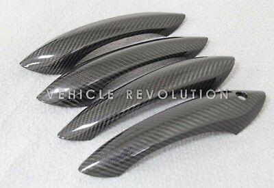 BMW F10 F06 F12 F13 F01 M5 M6 Dry Carbon Fiber Exterior Door Handle Covers 11-15