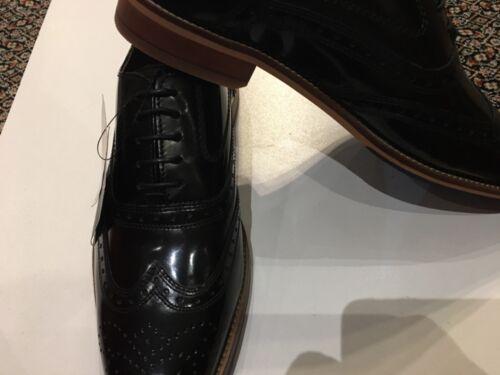 Uomo taglia Luxury scarpe Bnwt in 6 nera Collection M pelle s wztnqIA