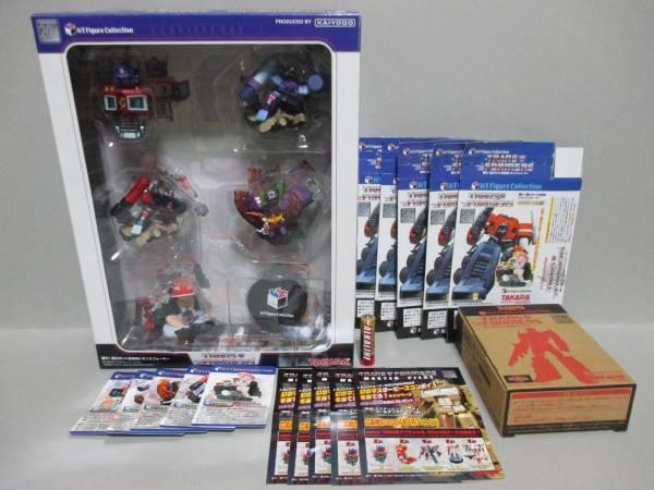 Kaiyodo X Takara Transformers Alle 5 Figuren Komplett Kiste Convoy Kt Figur F S