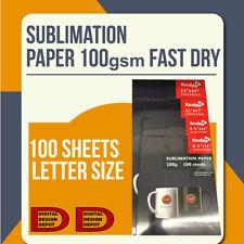 Koala 100 Sheets 85x14 Dye Sublimation Heat Transfer Paper Inkjet Epson T Shirt