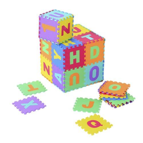 HOMCOM Tappetino Puzzle per Bambini con dimensione 30x30/60x60