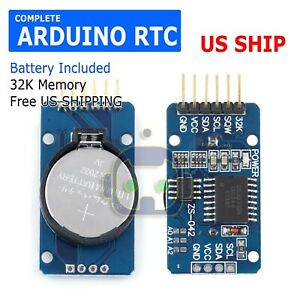 DS3231-AT24C32-IIC-Precision-Real-Time-Clock-RTC-Memory-Module-for-Arduino-USA