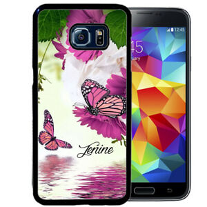 Personalized-Case-Fits-Samsung-Galaxy-S10-S9-S8-S7-Purple-Butterfly