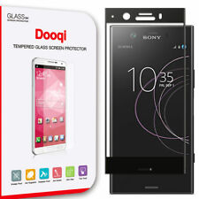 GUOHUN Screen Protector Protective 25 PCS 9H 3D Full Screen Tempered Glass Film for Sony Xperia XZ1 Compact Transparent Glass Film Color : Transparent