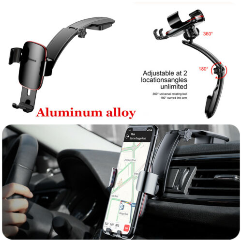 360° Metal Gravity Car Dashboard Mobile Phone Holder Mount For Cell Phone iPhone