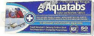 AQUATABS WATER PURIFICATION TABLETS - Make the water safe for drinking anywhere you travel !! London Ontario Preview