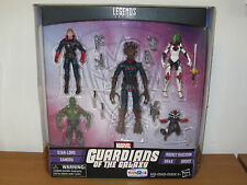 Marvel Legends Guardians of the Galaxy Set Star-Lord Gamora Drax Rocket Groot