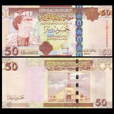 Libya Lybien, 50 Dinars, ND(2008), P-75, UNC