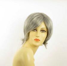 short wig for women smooth gray ref: MARINA 51 PERUK