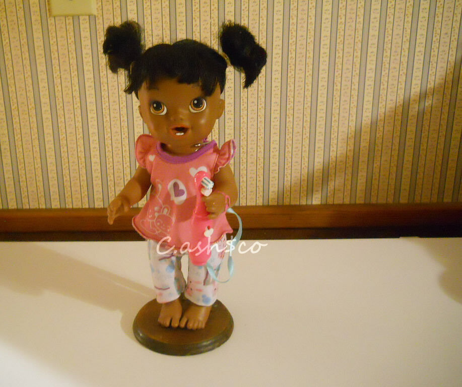 Baby Alive My Baby All Gone Doll African American Spin Toothbrush Drinks Wets For Sale Online