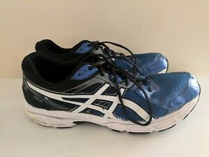 ASICS GEL CONTEND 2 MEN'S Training Running scarpa Size 10 Blue Black White T426N