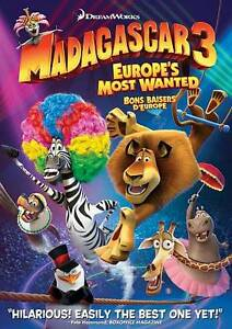 Madagascar-3-Europe-039-s-Most-Wanted-DVD-2012-Canadian-Eng-French-Span-NEW
