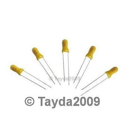 10 x 6.8uF 25V Radial Capacitor Tantalum - FREE SHIPPING