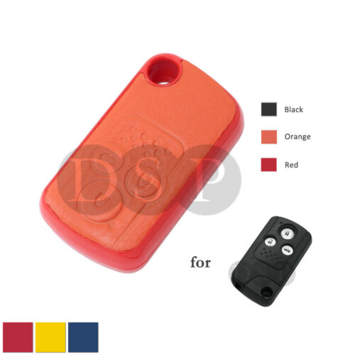 Genuine Leather Shell Holder fit for HONDA Smart Key Remote Case Fob 3B OR