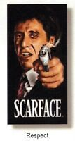 Scarface 1983 Movie Tony Montana Al Pacino Respect Beach Towel 30 X 60