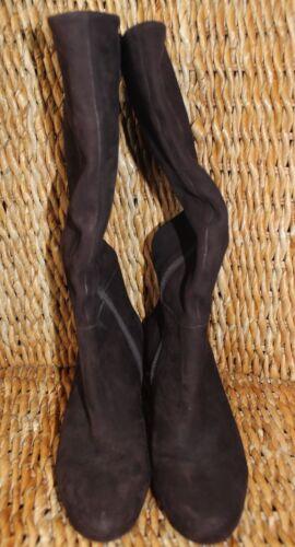 stivali in di taglia pelle gli Fudge Brown Antigua Coltiva 8 scamosciata UqCARTw