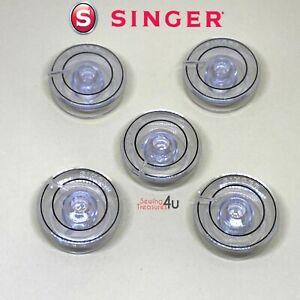 5 SINGER FUTURA SEWING MACHINE BOBBINS #181551