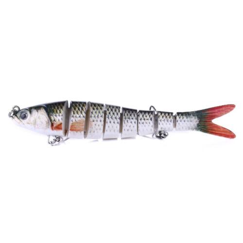 Realistic Lifelike Fishing Bait Multi Jointed Fishing Lure Salmon Swimbait