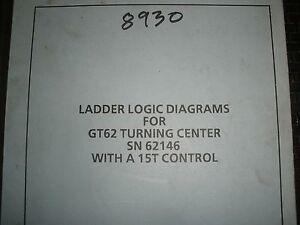 Toyada cnc lathe gt62 with 15t control ladder logic diagram manual image is loading toyada cnc lathe gt62 with 15t control ladder publicscrutiny Choice Image