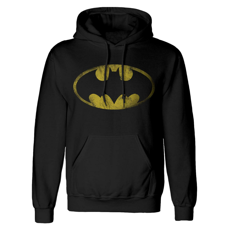 DC Comics Batman Distressed Logo Hoodie