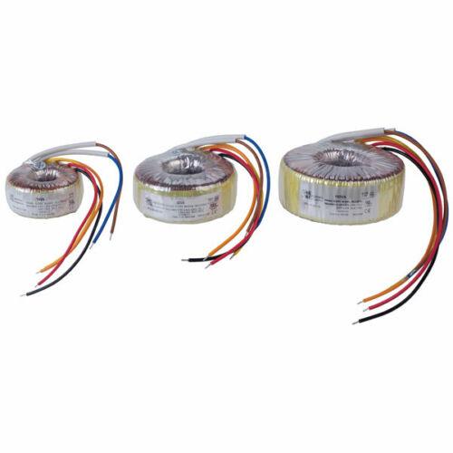 Vigortronix VTX-146-120-112 toroidal transformer 230V solo principal 120VA 0-12V
