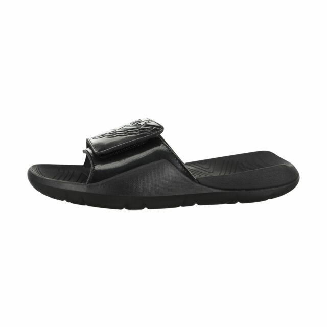 c6325f2c3ae555 Nike Jordan Mens 11 Hydro 7 Aa2517 010 Black Slide Sandals for sale ...