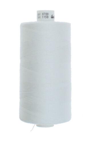 10 x Nähgarn Nähseide für mittelleichte mittel starke Stoffe Jeans Stärke 80