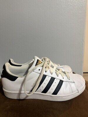 Adidas Superstar J C77154 White Black