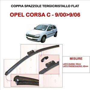 SPAZZOLE TERGICRISTALLO OPEL CORSA C DAL 09/2000 AL 09/2006 ASHIKA