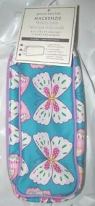 Pottery Barn Kids Mackenzie Teal Pink Butterfly Pencil