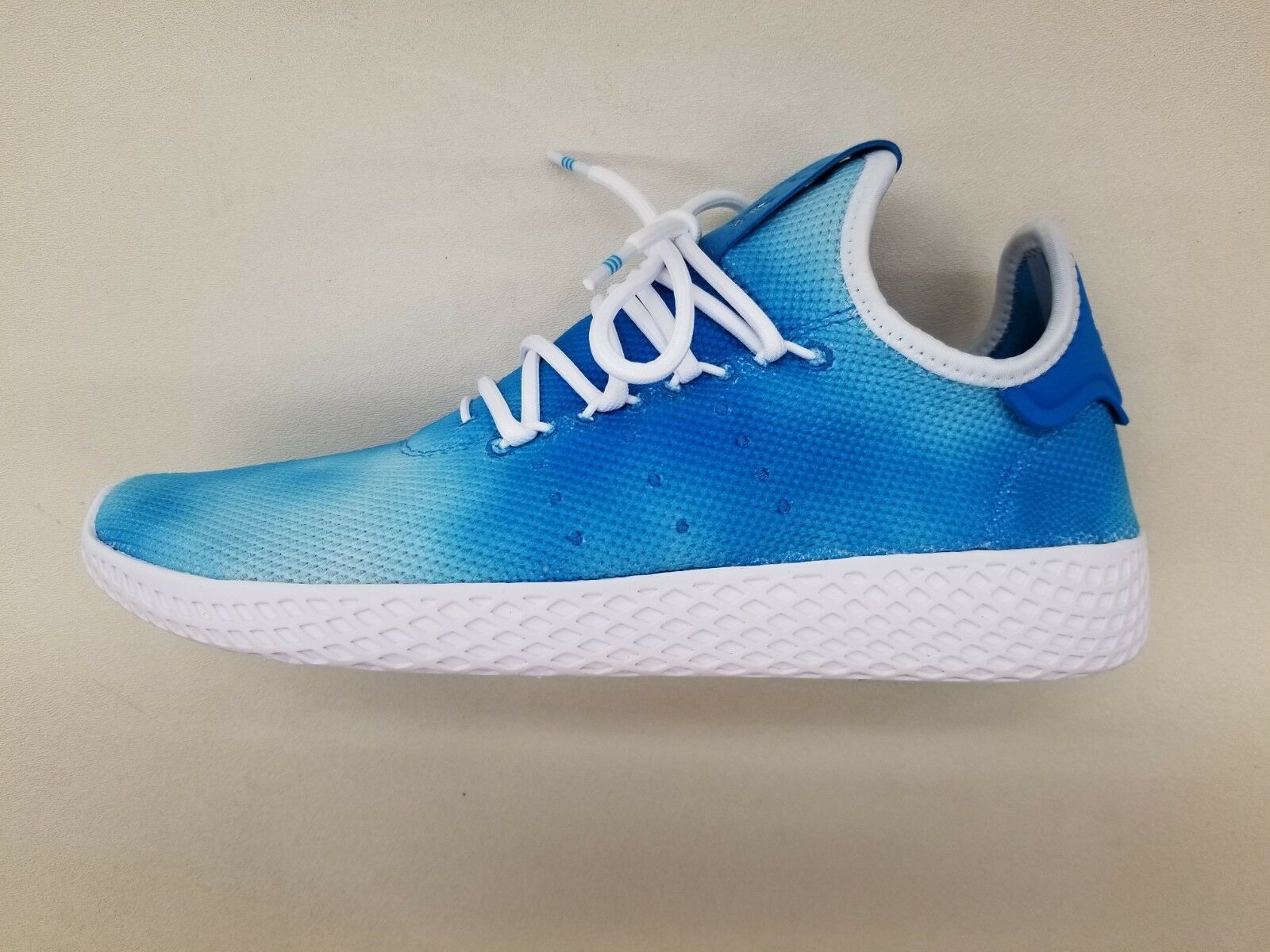ADIDAS ORIGINALS PW HU HOLI TENNIS TYE DYE blueE WHITE MENS SNEAKERS DA9618