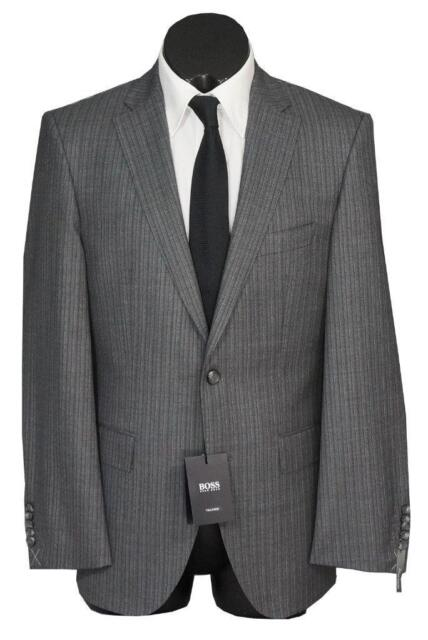 a6626dc41 New Hugo Boss Tailored T-Howard5/Court6 150´S Wool Men´s Suit Gray ...