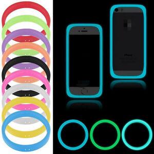 Silicone-Bracelet-Phone-Cover-Bumper-Case-Universal-Glow-In-The-Dark