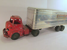 Wyandotte Allied Van Lines Semi Tractor Trailer with Cab/Hitch VINTAGE 1950's
