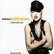 Madonna Justify My Love 2 mixes German CD