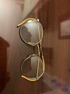 Vintage Eyewear LUNOR 101 Gold Filled Oval Man Frame Woman Japan Made Original Classic Moda 00* Rare Eyewear Glasses Montatura Occhiali