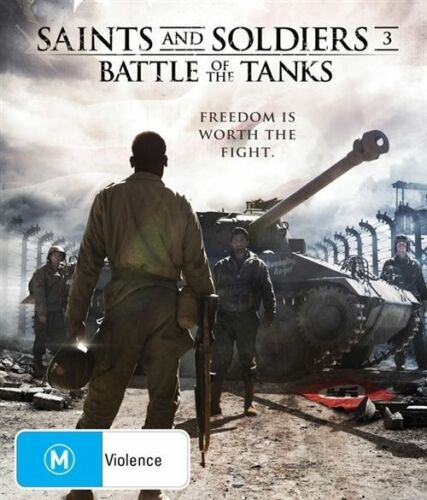 1 of 1 - Saints And Soldiers 3 - Battle Of The Tanks (Blu-ray, 2015)