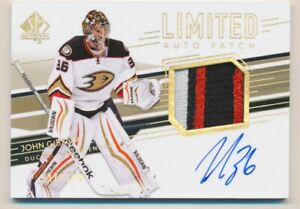 2014-15-SP-Authentic-Limited-49-John-Gibson-Auto-Jersey-100