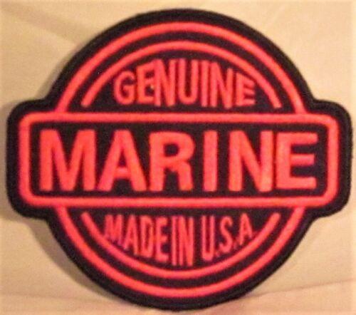 GENUINE MARINE USA LAW ENFORCEMENT MILITARY MOTORCYCLE BIKER VEST PATCH Q-7