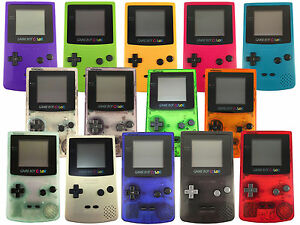 NINTENDO GAME BOY COLOR GBC Gameboy Colour in 14 Colours FULLY ...